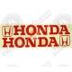Наклейка Хонда, светоотражающая (комплект 2 шт)