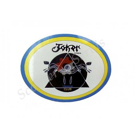 """Наклейка """"Joker Club"""" для хонда Джокер Клуб"""