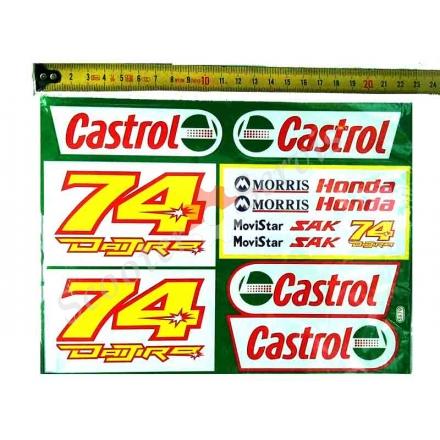 Наклейка Кастрол 74