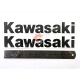 Наклейка Кавасакі, карбон