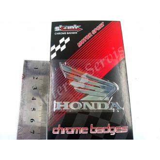 Наклейка логотип Хонда крила, дзеркальна
