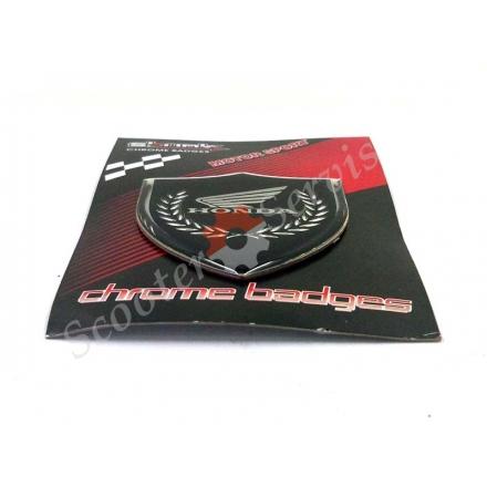 Наклейка логотип Хонда, об'ємна, силіконова