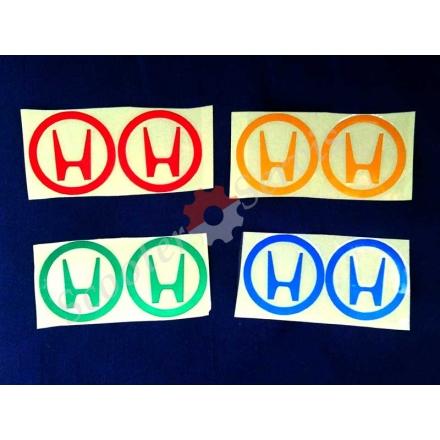 Наклейка, логотип Хонда (світловідбиваючі)