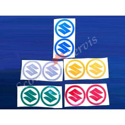Наклейка, логотип Сузукі (світловідбиваючі)