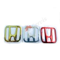 Логотип Honda, наклейка, объемная, силиконовая,  квадратная