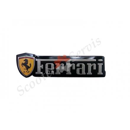 "Наклейка об'ємна алюміній ""Ferrari"""
