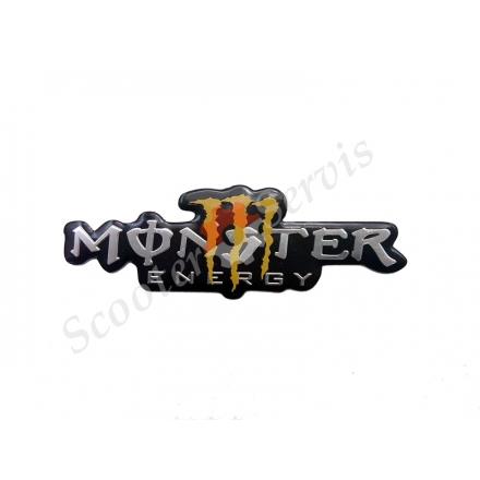 """Наклейка об'ємна алюміній """"Monster"""""""