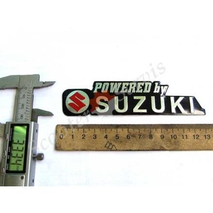 """Наклейка об'ємна алюміній """"Suzuki"""""""