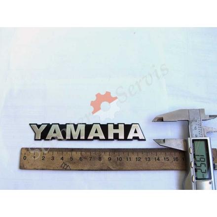 """Наклейка об'ємна алюміній """"Yamaha"""""""