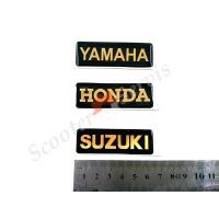 Наклейка объёмная силиконовая Yamaha, Honda, Suzuki