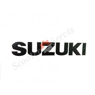 Наклейка Сузукі, карбон