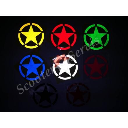 """Наклейка світловідбиваюча """"Армія зірка"""""""