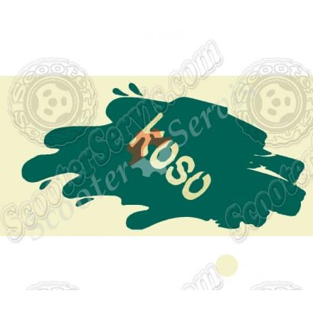 Наклейка светоотражающая - koso