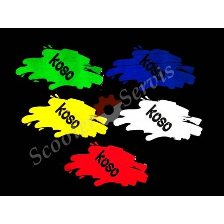 Наклейка світловідбиваюча - koso