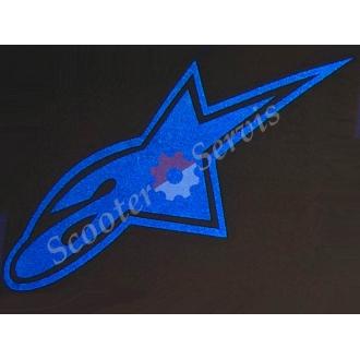 """Наклейка светоотражающая логотип """"Альпинстар"""""""