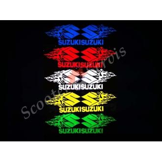 """Наклейка светоотражающая логотип """"Сузуки пламя"""""""
