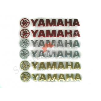 Наклейка Yamaha, объемная силиконовая длинна 20 см