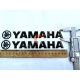 Наклейка Yamaha, об'ємна силіконова довжина 20 см