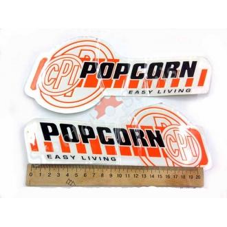 """Наклейки """"CPI POPCORN"""""""
