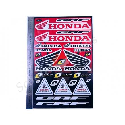 Наклейки Хонда (великий набір)