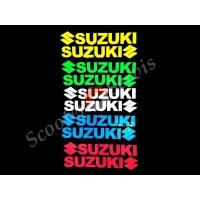 Наклейки Сузуки светоотражающие (комплект 2 шт)