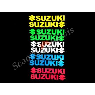 Наклейки Сузукі світловідбиваючі (комплект 2 шт)