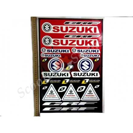 Наклейки Сузуки (большой набор)