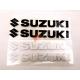 Наклейки Сузукі світловідбиваючі (малі, набір 2 шт.)