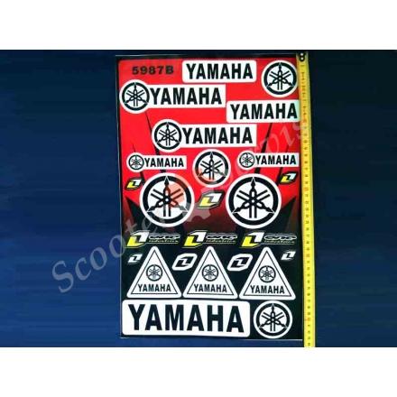 Наклейки Ямаха (большой набор)