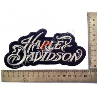 """Термонаклейка """"Harley Davidson"""", тканинна нашивка, наклейка на тканину"""