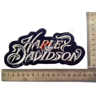 "Термонаклейка ""Harley Davidson"", тканева..."