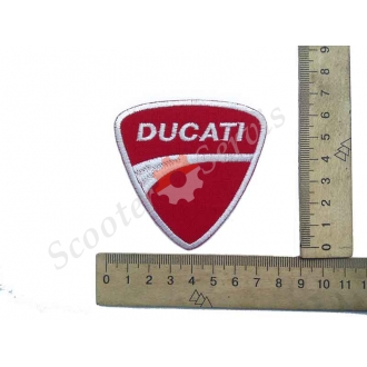 "Термонаклейка ""Ducati"", тканинна нашивка, наклейка на тканину"