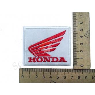 """Термонаклейка """"Honda"""" крылья, тканевая нашивка, наклейка на ткань"""