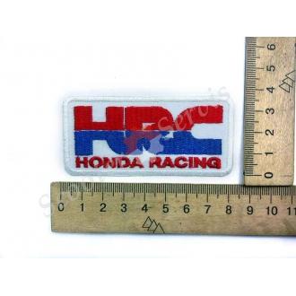 """Термонаклейка """"Honda Racing"""", тканевая нашивка, наклейка на ткань"""