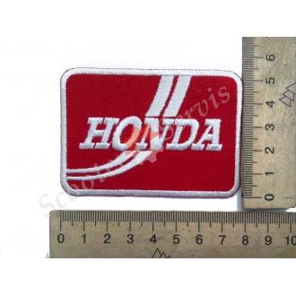 """Термонаклейка """"Honda"""", тканевая нашивка, наклейка на ткань"""