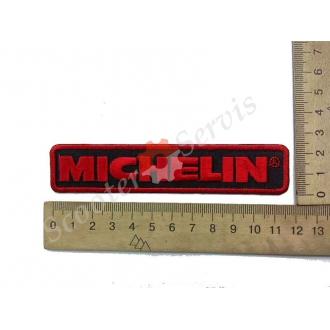 "Термонаклейка ""Michelin"", тканинна нашивка, наклейка на тканину"