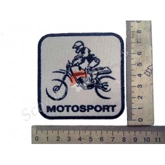 """Термонаклейка """"Motosport"""", тканевая наши..."""