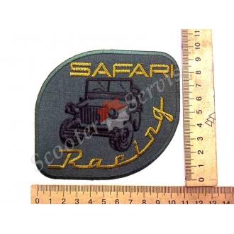 """Термонаклейка """"Safari Racing"""", тканевая нашивка, наклейка на ткань"""