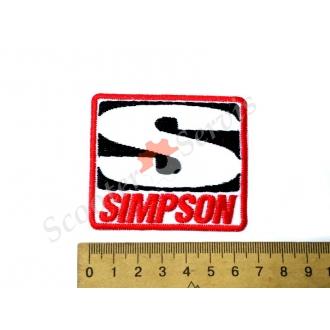 "Термонаклейка ""SIMPSON"", тканинна нашивка, наклейка на тканину"