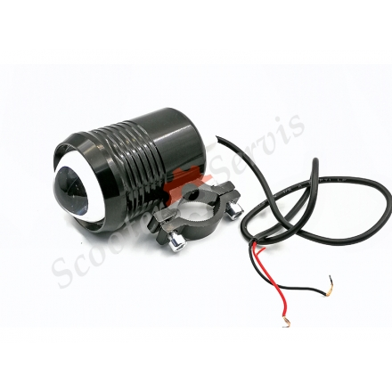 Лампа дополнительной подсветки Led линза навесная 12-60V/9-12W/30W