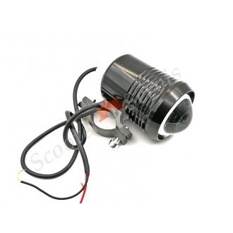 Лампа додаткового підсвічування Led лінза навісна 12-60V / 9-12W / 30W