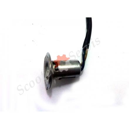 Патрон (цоколь) для лампи головного світла два вуса з переходом під H4