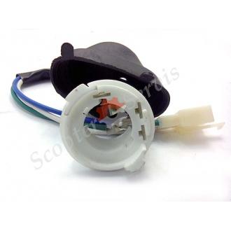 Патрон (цоколь) керамический, и обычный, для лампы головного света два уса