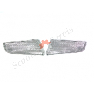Стёкла передних поворотов Сузуки Адресс, Suzuki Adress, V 50