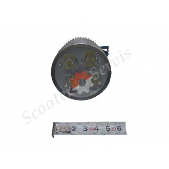 Світлодіодна Led лампа додаткового підсвічування 12-80V-12W (ближнє світло)