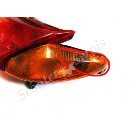 Задній ліхтар стоп-габарит скутера Suzuki Skywave, Burgman 98-04 р.в., двигун AN400