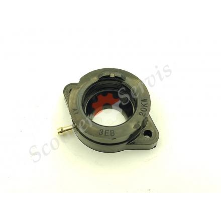 Патрубок, впускний колектор карбюратора Yamaha SR400, SR500, SP, 3GW-13586-00-00, 3EB, 20KW