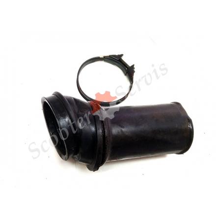 Патрубок від повітряного фільтра до карбюратора двигуна Ямаха Цігнус 125 кубів, ZY125T, 5VL, 4KL, 4CW, XC125T, 4KP, 4KY YAMAHA Cygnus 125 D