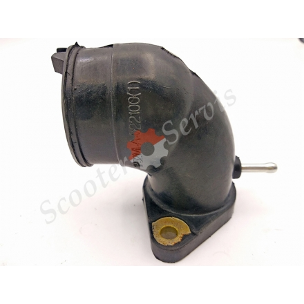 Патрубок, впускной коллектор двигателя 1P52MJ 150 кубов, CFmoto E-Charm, Шарм, CPI GTR 150 кубов (CF125T-5A) АльфаМото. водяное охлаждение
