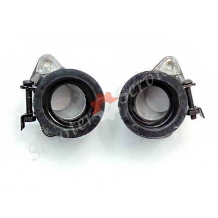 Впускной патрубок карбюратора Honda Rebel 250cc, Хонда CA250, Honda CA250, двух карбюраторный двигатель тип 253FMM